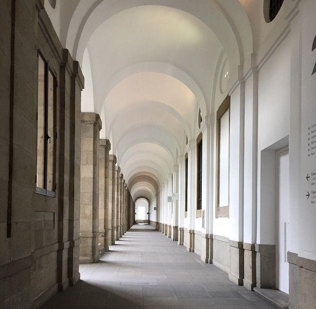 Pasillo museo Reina Sofía (Madrid)