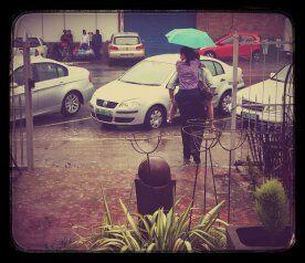 Come hail, rain or sunshine, we will shop...