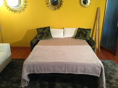 Divano letto in tessuto camouflage modello Rossy - Tino Mariani http://divaniedivaniletto.blogspot.it/2013/11/divano-letto-mimetico.html