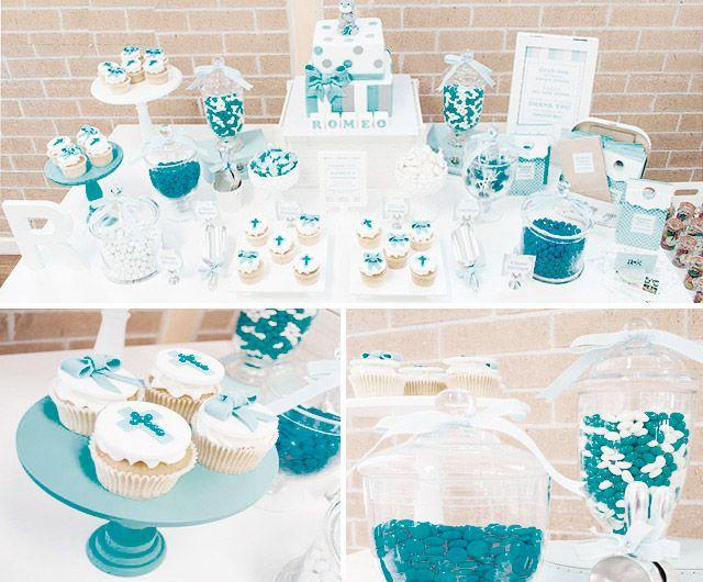 Ideas de decoración de bautizos - Bautizo y Baby Shower - Bebés ...