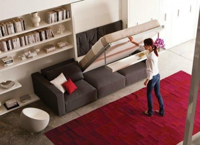 Ideias de decoração: camas escondidas, a melhor solução para ganhar espaço em casas pequenas (fotos)
