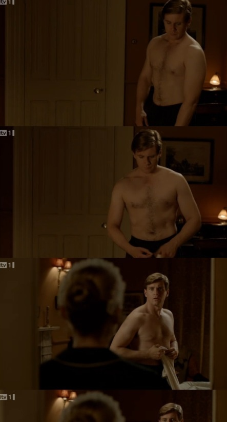 Allen Leech as Branson in Downton Abbey. Ah! This moment was crazy! I seriously hope this little slut drops dead or something, because she keeps trying to seduce my lovely Irishman.