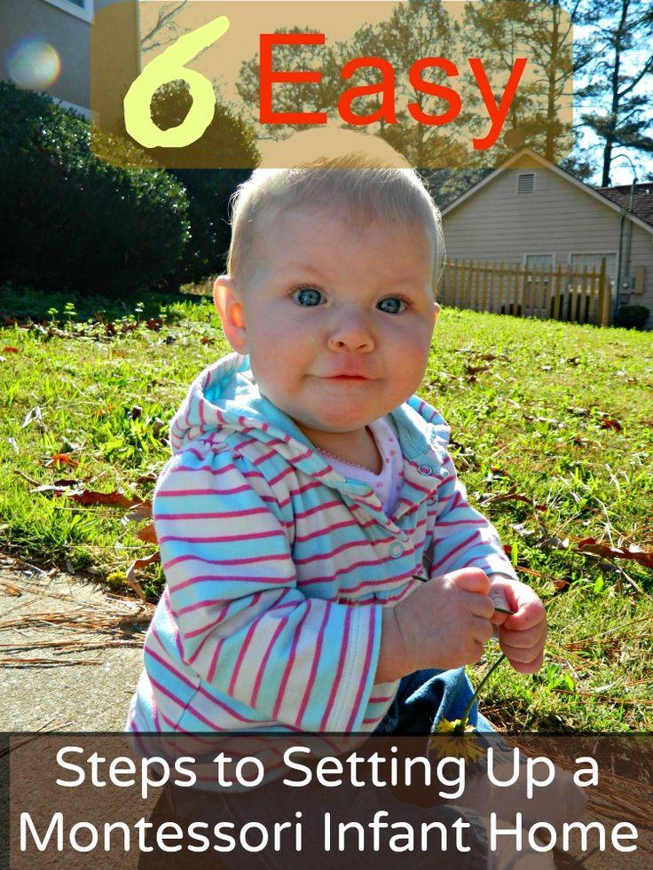 6 Easy Steps to Setting Up a Montessori Infant Home www.christianmontessorinetwork.com