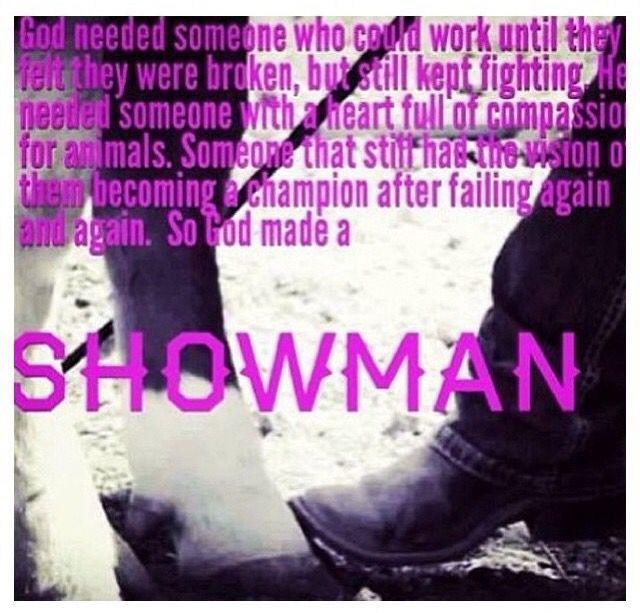 Livestock Showman
