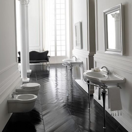 the dark painted wood is so regal thinking espresso or darker for - Painted Wood Bathroom Interior