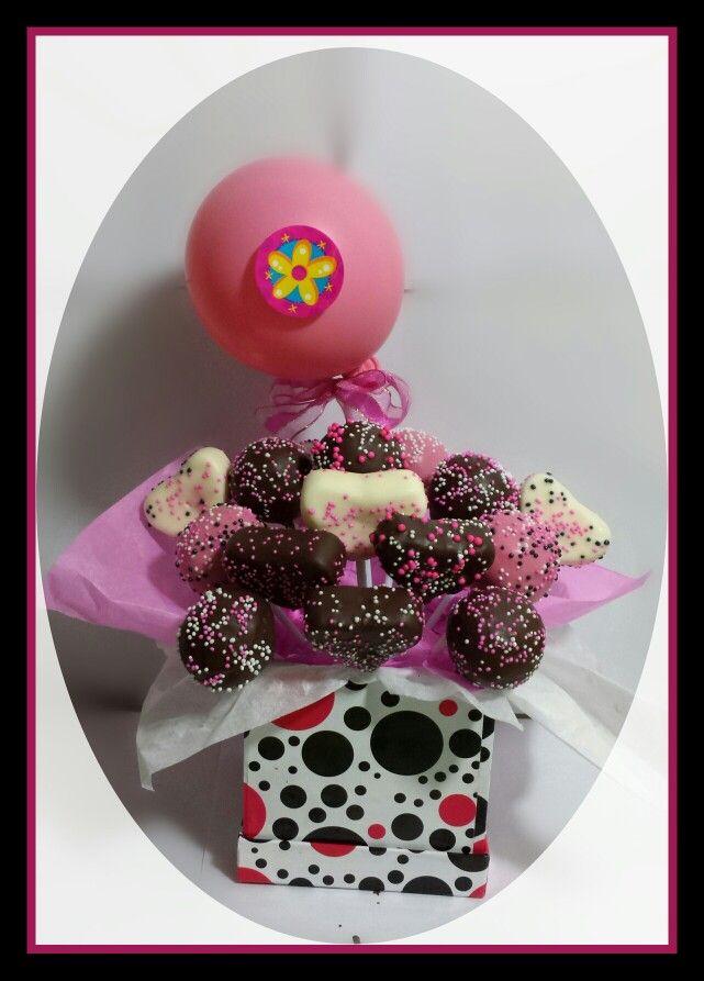 Bouquet de popcakes