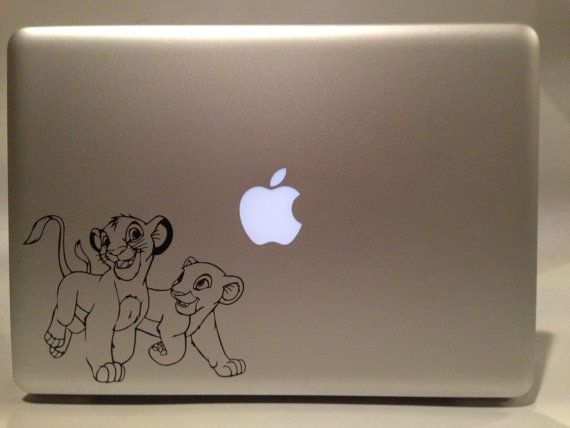 Disney's The Lion King Young Simba and Nala by VinylReflection, $4.99