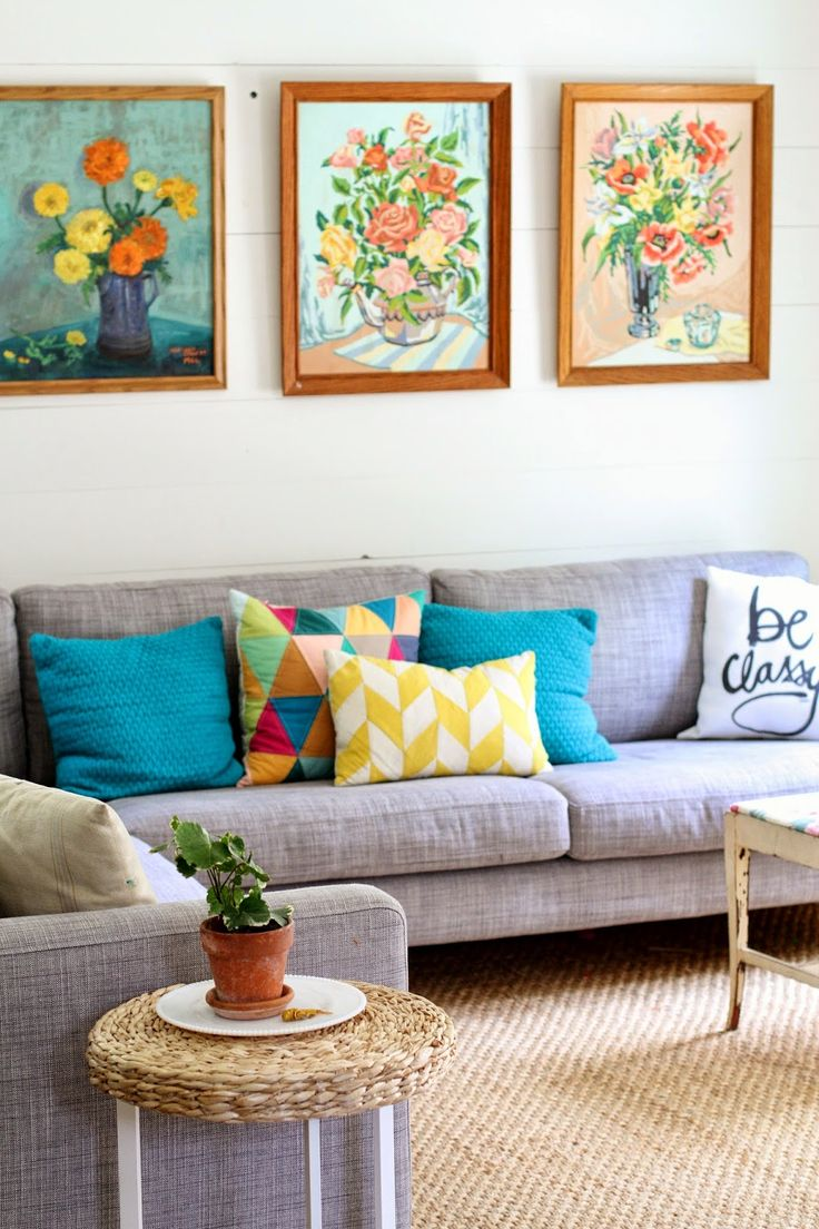 Flower Patch Farmgirl  I Wasn t Always Like This   Living Room  Early   Bright PillowsBlue PillowsThrow  Best 25  Bright pillows ideas on Pinterest   Colorful throw  . Living Room Sofa Pillows. Home Design Ideas