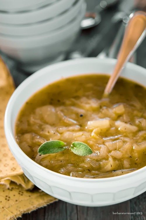 Zuppa alle cipolle