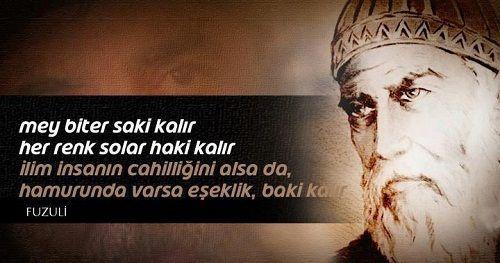 Mehmed bin Süleyman Fuzûlî - (FUZULİ)