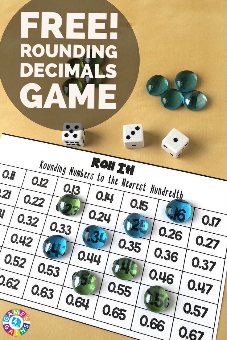 What are some rules about rounding decimals?