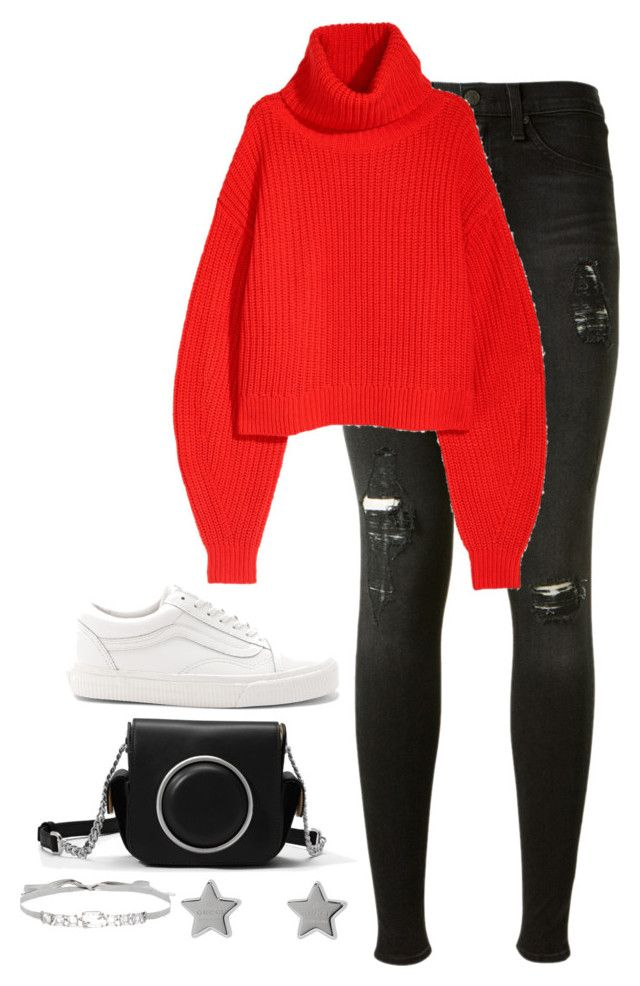 """""""Untitled #4603"""" by magsmccray on Polyvore featuring rag & bone, Vans, MICHAEL Michael Kors, Gucci and Jenny Packham"""
