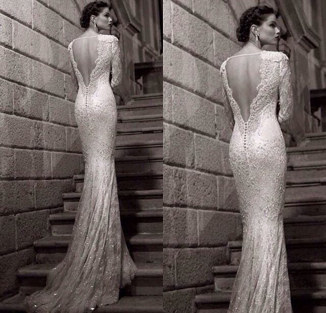tight backless wedding dress beautiful weddings