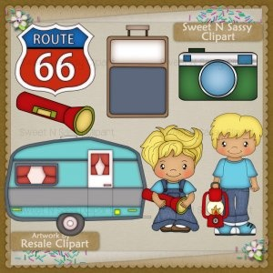 Route 66 Vacation Blonde