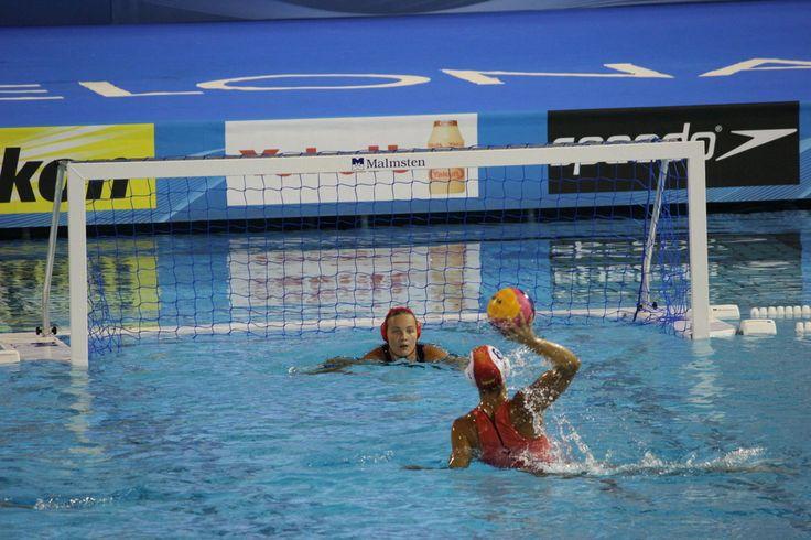 España - Waterpolo Femenino - Semis - Esp-Hun - Foto Anesmar