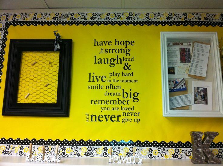 Yellow Classroom Decor : 16 best my old classroom decor images on pinterest classroom decor