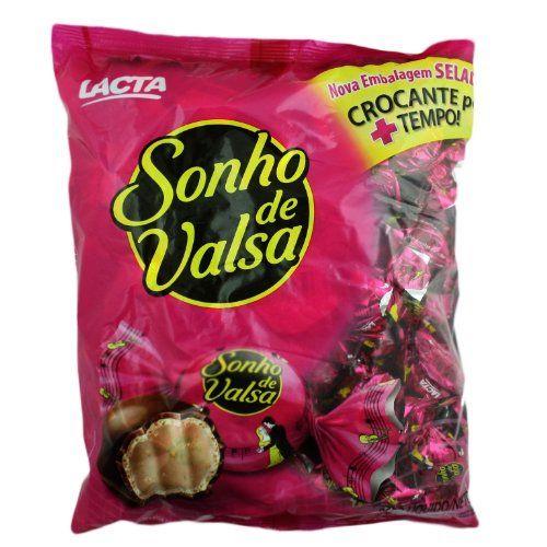Bonbon Sonho De Valsa - Lacta - 35.27oz | Bombom Sonho De Valsa Lacta - 1kg Lacta