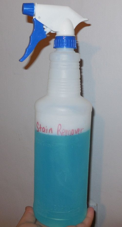 DIY:  Make your own stain remover with just 3 ingredients.