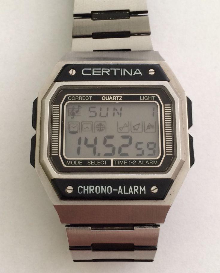 Certina Chrono Alarm (197?)