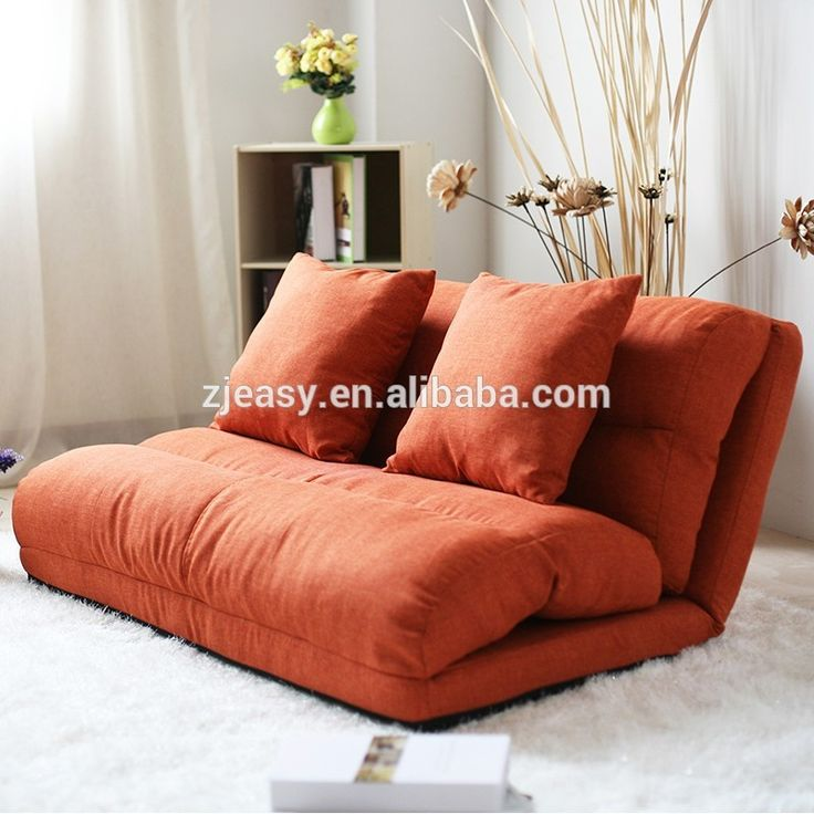 Korean Style Fabric Folded Sponge Floor Sofa With 5 Positions Adjule Backrest Product On Alibaba