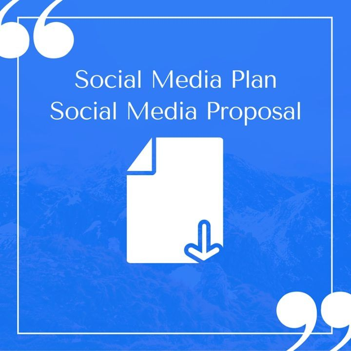 A Compelling and Easy to Customize Social Media Plan Template to - social media plan template