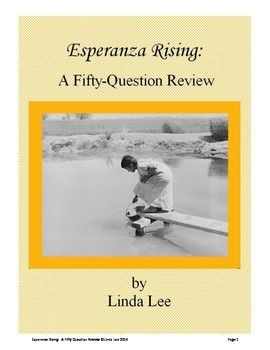 esperanza rising book review Download the app and start listening to esperanza rising today  7 of 7 people found this review helpful  i liked the book esperanza rising the first time i.