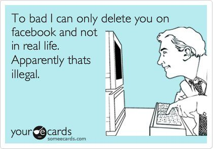 do you  ever read an ecard and decide that the author is your soulmate / best friend / some evil genius who is reading your mind?