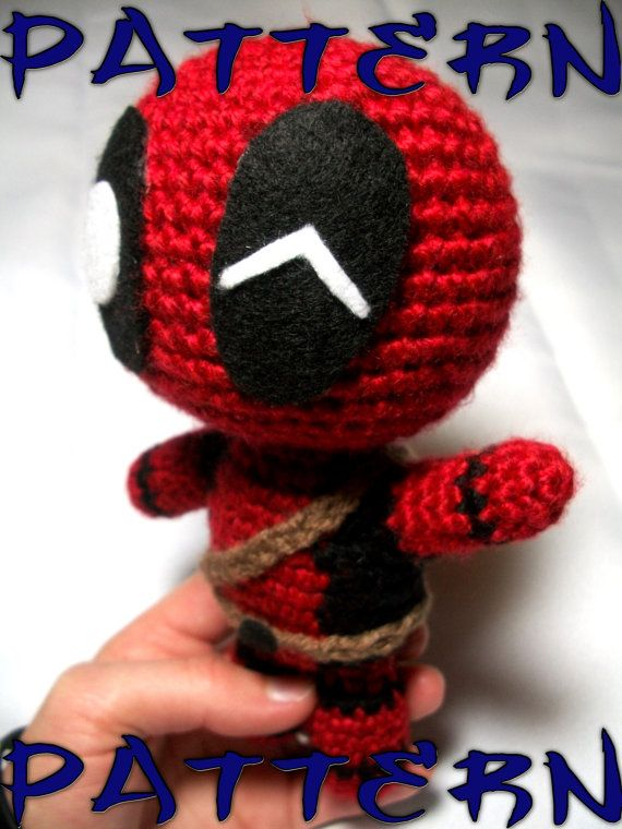 Deadpool Knitting Pattern : 1000+ images about Crochet patterns on Pinterest Free pattern, Crochet baby...