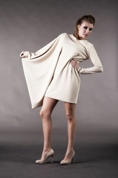 Abito asimmetrico geometrico - Beautiful short, asymmetrical dress