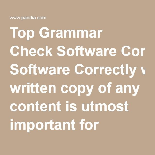 Best Plagiarism Check Software on the Web   Grammar Check Software  TurnItIn is another leading academic plagiarism checker technology for  teachers and students  Online plagiarism detection  grammar check  grading  tools
