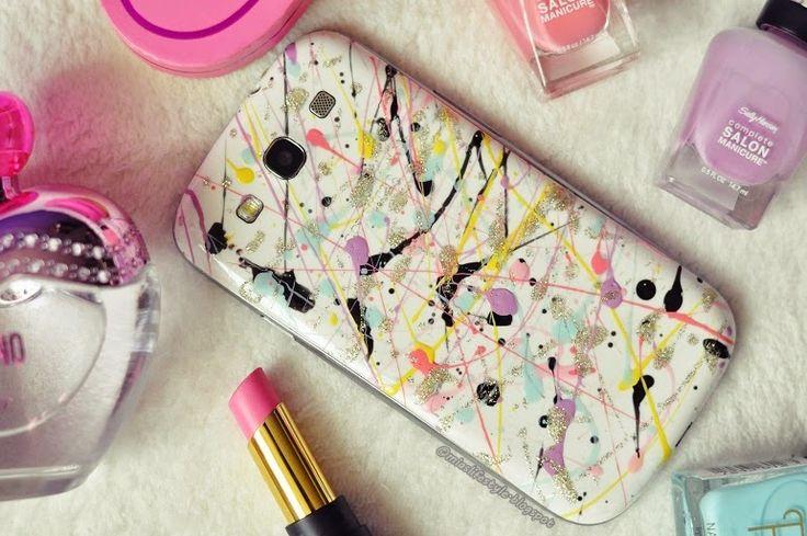 Mia's lifestyle: DIY: Farebný kryt na mobil