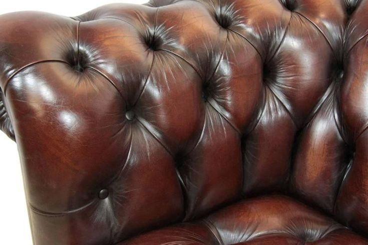 Vintage Leather Chesterfield 9
