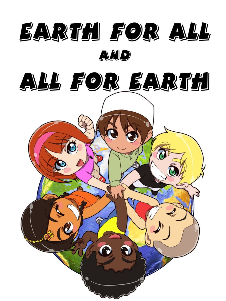 Earth for all and All for Earth. by *Nayzak on deviantART