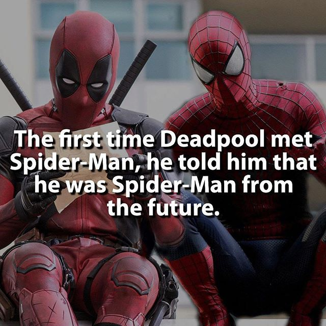 Spidey or Deadpool? | via @supervillainfacts |