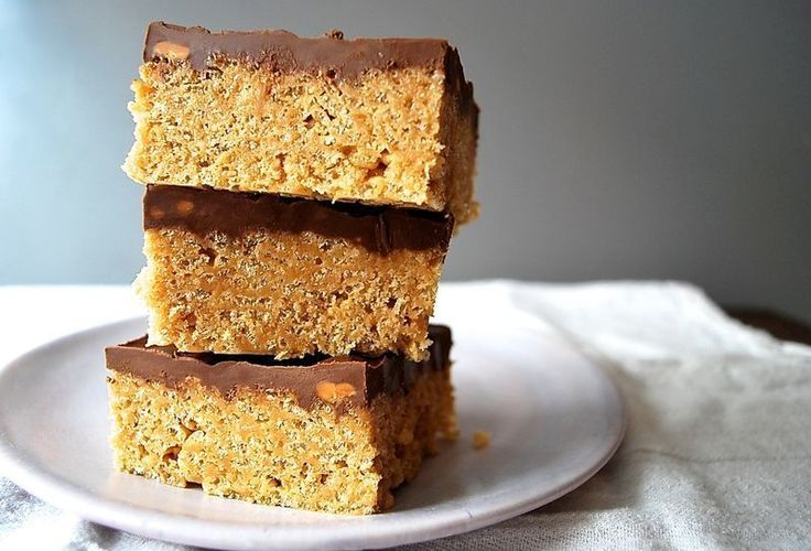 Scotcheroos: Regular Rice Krispies treats are good, but add peanut butter, butterscotch chips, and a chocolate topping and they'll be even better.