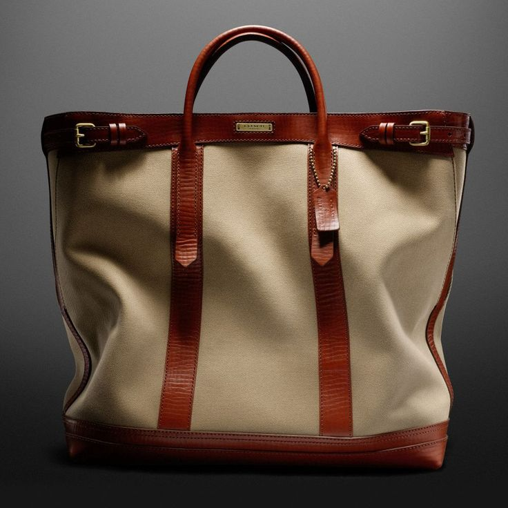 The Coach + Billy Reid Warrior Tote In Archival Twill from Coach