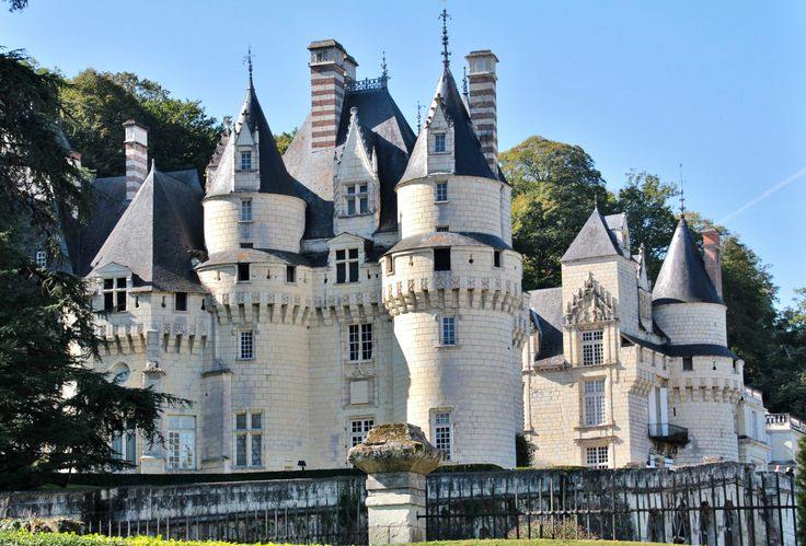 Chateau d'Usse - inspiration for Chateau du Soleil, Jean-Philippe's ancestral home, where Heart of Fragile Stars opens.