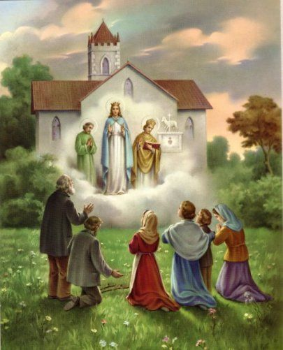 Our Lady of Knock, Ireland, appeared August 21, 1879. God Bless Fr. David in his Pilgrimage to Knock. Blessings 4 all the petitions he will be offering.