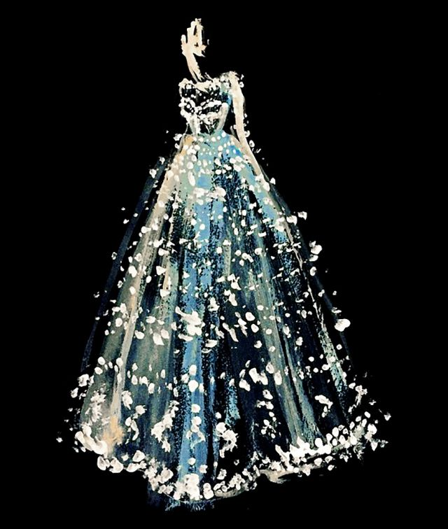 Valentino Gown | Katie Rodgers | Paper Fashion