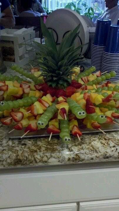 Fun fruit platter