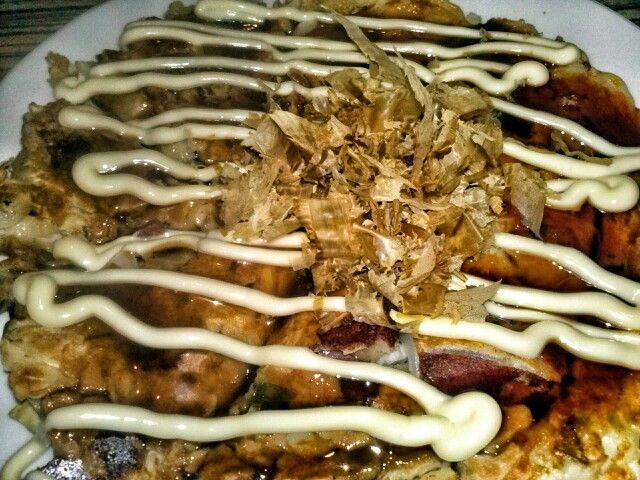 Japanese 'Pizza', okonomiyaki