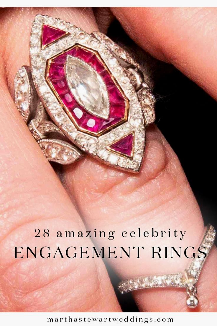 48 best Celebrity Engagement Rings images on Pinterest | Celebrity ...