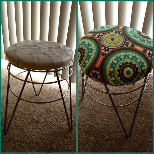 Diy Vanity chair redo in twenty minutes & 49 best my new vanity images on Pinterest | Vanity chairs ... islam-shia.org