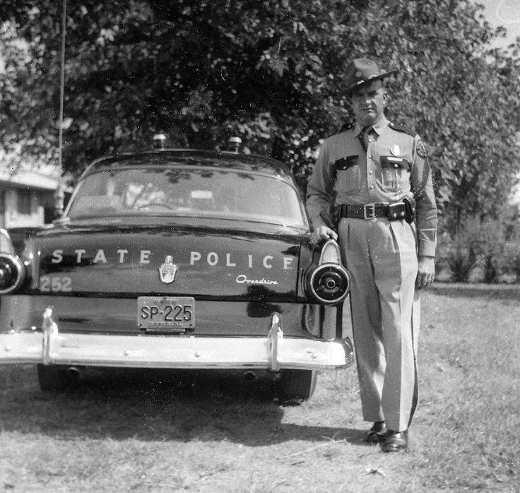 Ford State Police Car