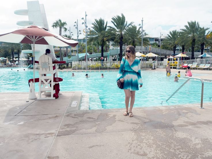 Orlando Lookbook, Orlando Style, Cabana Bay Resort,  Dress - Missguided Bag - Rebecca Minkoff Shoes - Target Sunglasses - Kate Spade