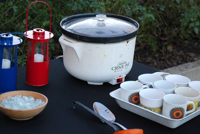 Matariki Street Party 2013 - Best ever mulled wine in the crockpot