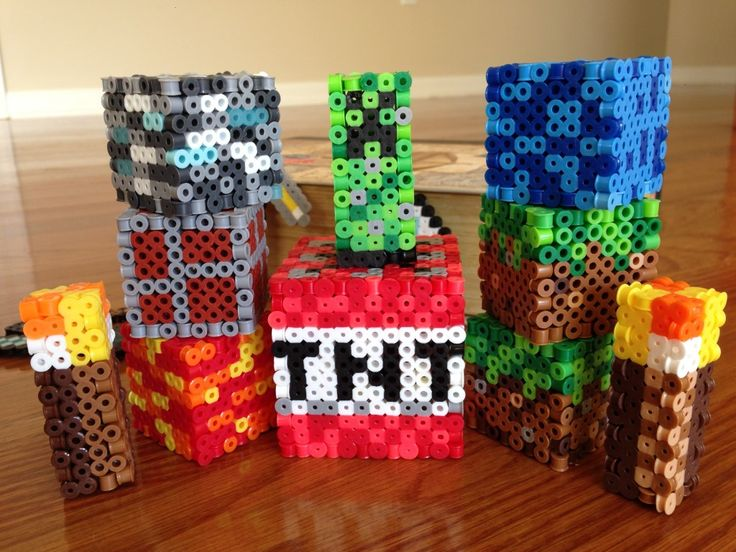 How to Make Perler Bead Minecraft Toys: Minecraft is quite popular among teens. This would be a fun activity that all fans of the game would enjoy creating.