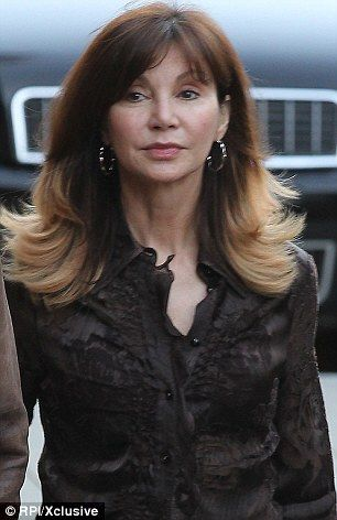 Still radiant: Victoria Principal looked fabulous week as she stepped out in Malibu