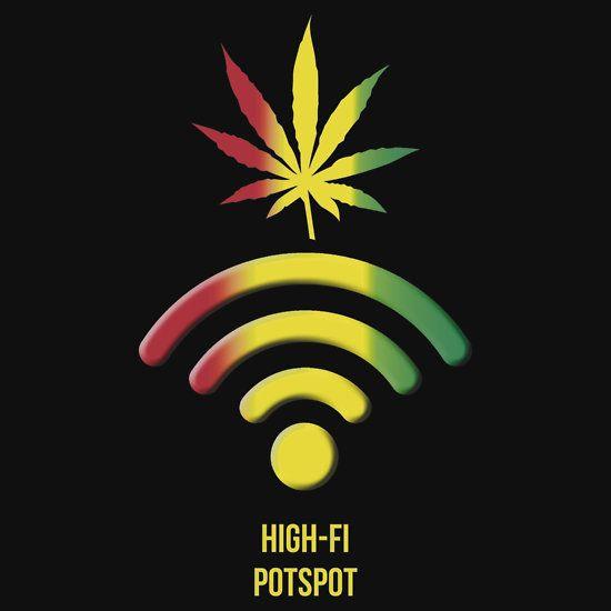 """""""High-Fi Potspot"""" T-Shirts & Hoodies by Samuel Sheats   Redbubble - http://potterest.com/pin/high-fi-potspot-t-shirts-hoodies-by-samuel-sheats-redbubble/"""