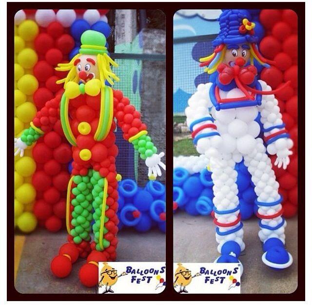 Party Balloons Zurich: Carnival Balloon Decor #carnival #balloon #decor